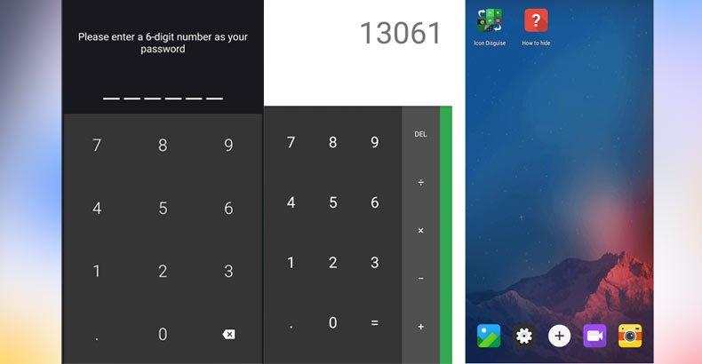 إخفاءالتطبيقاتمن الشاشة الرئيسية